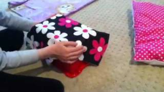 How To Make A Bed Or Couch For Your American Girl Doll Girl