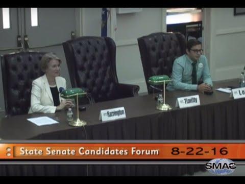 State Senate Candidates Forum (8-22-16)