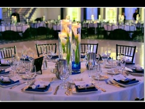 Rose And Calla Lily Wedding Centerpieces  YouTube