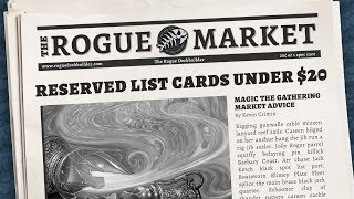Top 10 Most Played Reserve List Cards Under $20 for Commander