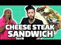 Cheese Steak Sandwich w/ Swoozie