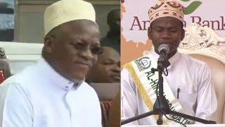 LIVE: Mbele ya Rais Magufuli, Mtanzania Shamsuddin Hussein Ausimamisha Uwanja