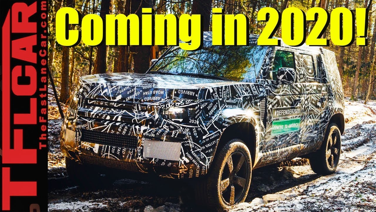 2020 Land Rover Defender: Here's Everything We Know So Far