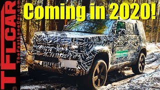Breaking News! 2020 Land Rover Defender Coming to America - Will Land Rover Get it Right?