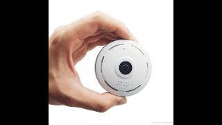 Câmera IP 360 P2P WIFI Acesso Remoto Celular Vigilância - TioChicoShop