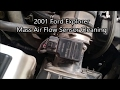Ford Explorer Mass Air Flow Sensor Cleaning
