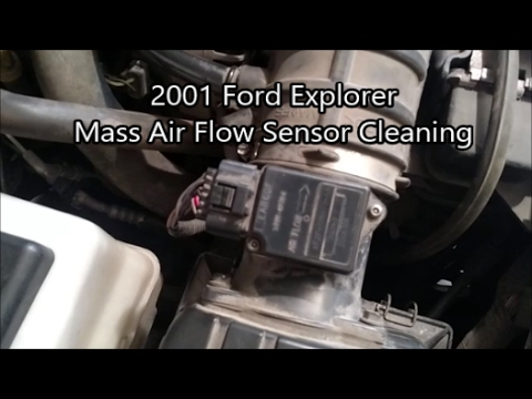 Ford explorer mass air flow sensor cleaning youtube ford explorer mass air flow sensor cleaning publicscrutiny Image collections
