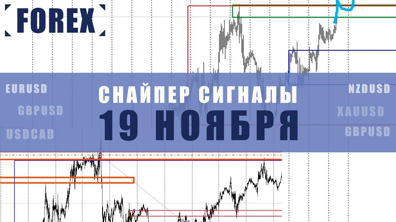 СИГНАЛЫ СНАЙПЕР НА 19 НОЯБРЯ  | Трейдер Ян Сикорский