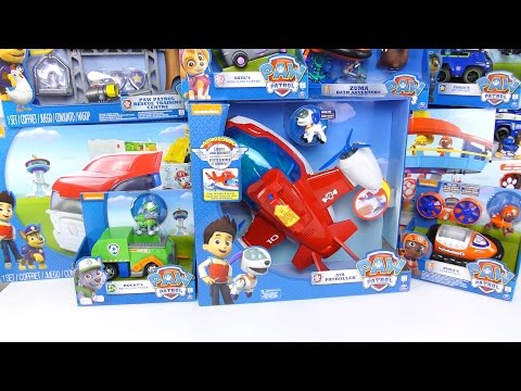 NEW 2016 PAW Patrol A Lot Of Toys!