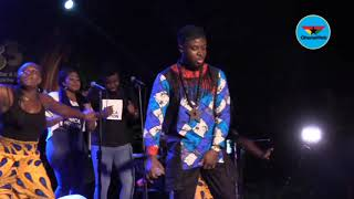 Fuse ODG performs 'Bra Fie' at 'New Africa' album launch