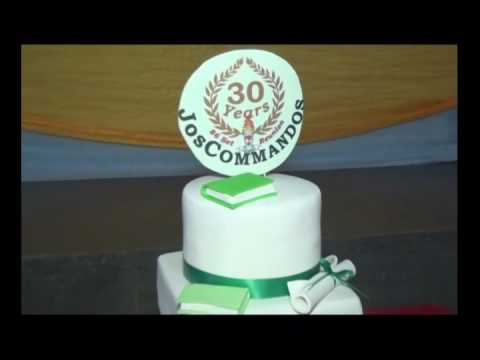 1986 SET OF JOS COMMANDOS 30TH YEAR REUNION VISIT TO CSSJ/SCHOOL PROJECT COMMISSIONING