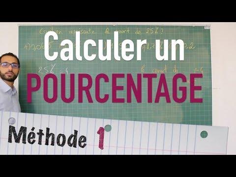 Download Calculer un pourcentage - Méthode 1