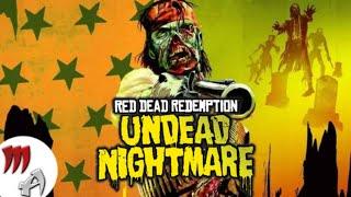 Marshall Artist Stream: Zombie Month! Day 3 - Red Dead Redemption Undead Nightmare
