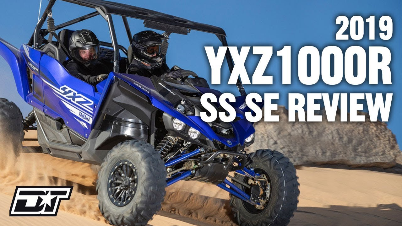 Full Review of the 2019 Yamaha YXZ1000R SS SE