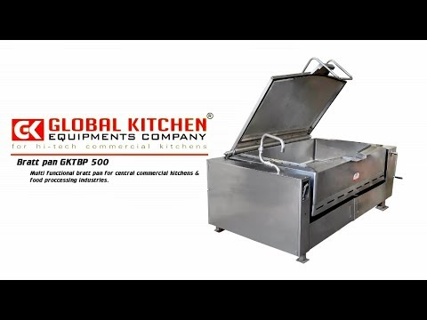 Global Multifunctional Tilting Bratt Pan - Global Kitchen Equipment Company Coimbatore