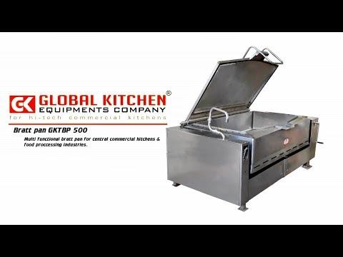 Global Multifunctional Tilting Bratt Pan - Global Kitchen Equipment Company Coimbatore