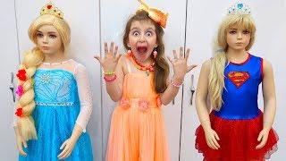 Elsa Chooses a Profession   Sewing Princess Dresses   Super Elsa