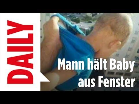 Für Facebook-Likes: Mann hält Kind aus Fenster - BILD Daily Live 21.06.2017