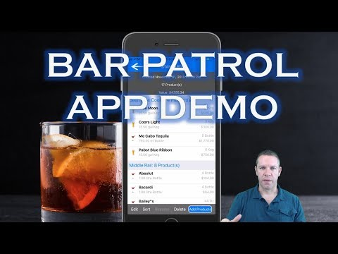 Bar Patrol Inventory App Live Demo