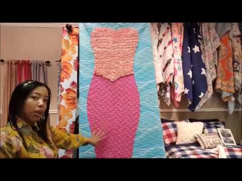 Product Demo: Mermaid Ruffle Quilt and Comforter Sets by Lush Decor