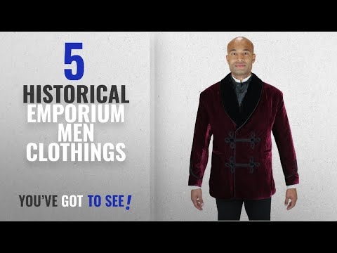 43caef798 Top 10 Historical Emporium Men Clothings [ Winter 2018 ]: Historical  Emporium Men's Vintage Velvet - YouTube