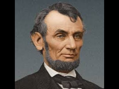 Channeling Abraham Lincoln