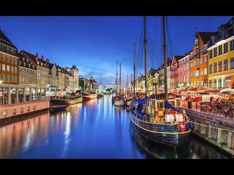 April in Copenhagen Denmark
