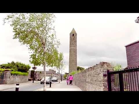 Aerial view of Clondalkin, Dublin