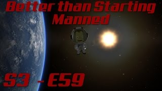Triplanetary Express Pt 3 - S3, E59 - KSP Better than Starting Manned