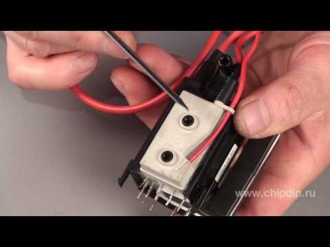 видео: Строчный трансформатор