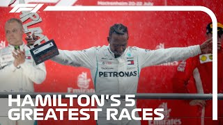 Lewis Hamilton's 5 Greatest Wins