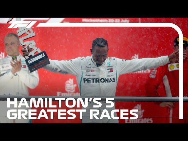 Lewis Hamilton's 5 Greatest Wins