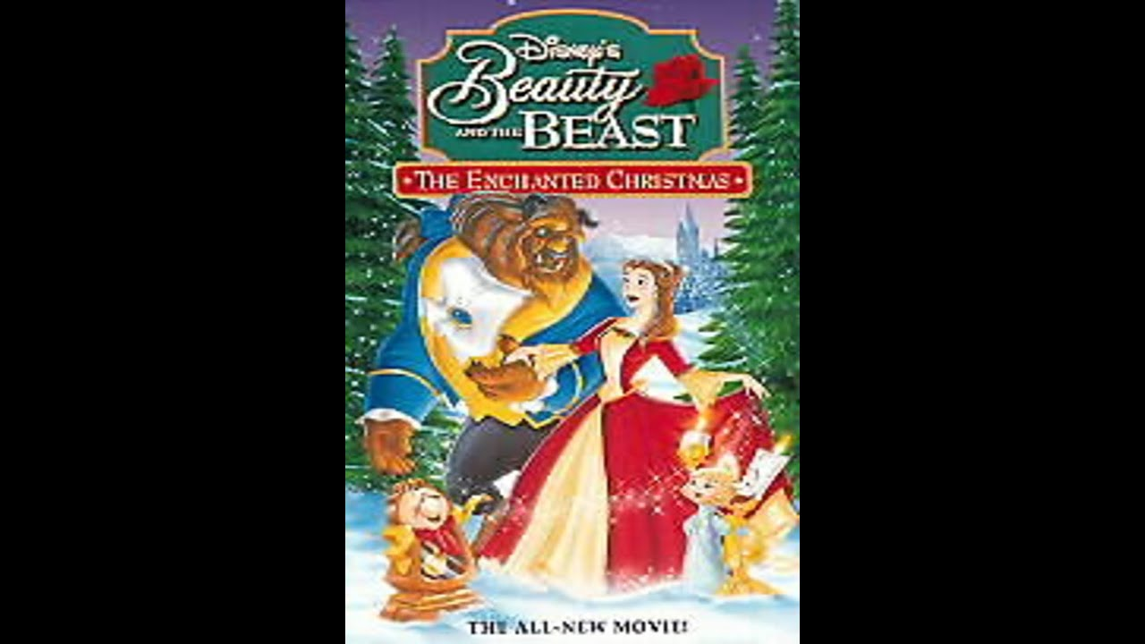 Opening to Beauty and the Beast - The Enchanted Christmas 1997 VHS ...