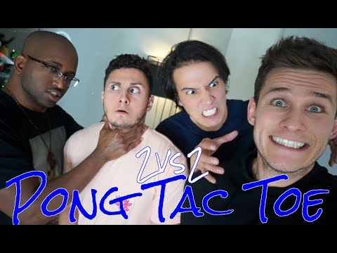 "Pong Tac Toe ""2vs2"" ft Swoozie, LazyRonStudios, & DavidAlvareeezy"