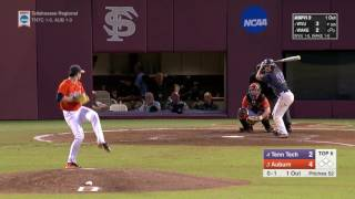Auburn baseball vs Tennessee Tech NCAA Regionals highlights