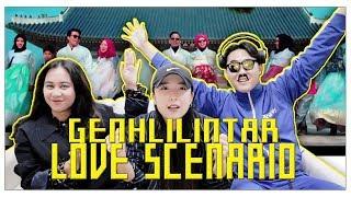 [REAKSI] K-POP VOCAL TRAINER 'Love Scenario' Gen Halilintar [SUB : IDN, KOR]