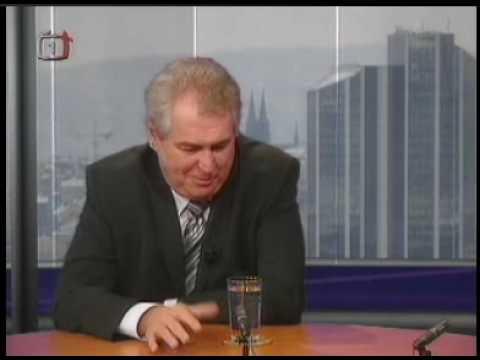 Miloš Zeman o Popradském pivu