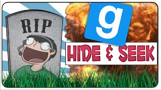 Gmod Hide & Seek Funny Moments: Betrayed by Evan, Jumpscare and Rest in Peace Nogla