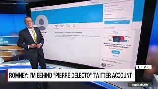 Mitt Romney's secret Twitter account, revealed