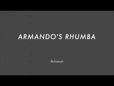 ARMANDO'S RHUMBA chord progression (slow)(no piano)- Backing Track Play AlongJazz