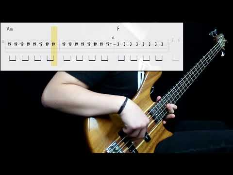 Red Hot Chili Peppers - By The Way (Bass Cover) (Play Along Tabs In Video)
