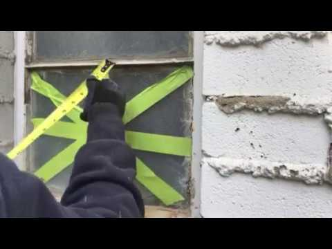 DIY Replacing Removing Glass Window Pane from metal frame Quick and Easy with Dremel