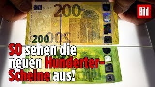 Diese neuen Euro-Scheine sollen Geld-Fälscher zum Schwitzen bringen!