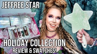 Jeffree Star Cosmetics Holiday 2019 Collection- Review & Swatches!