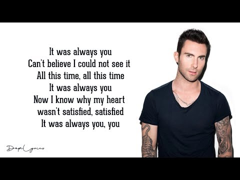 It Was Always You - Maroon 5  🎵