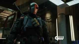 Promo Arrow 2x19 Saison 2 Episode 19 The Man Under the Hood -  Trailer HD