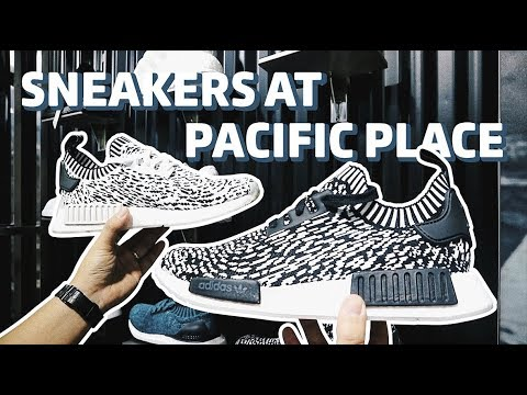 Sneakers Shops di Pacific Place Bahasa Indonesia