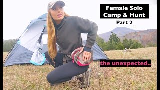 Solo Female Camping aฑd Hunting: Blue Ridge Mountains, Virginia (part 2)
