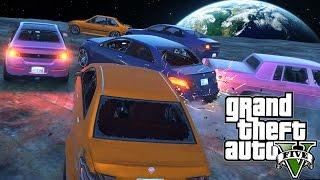 【DE JuN】暴力碰碰車 - 撞給他們屎R!!!! GTA 5 ( 歡樂時刻 ) thumbnail