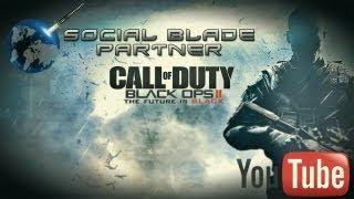 Black Ops 2 - Je suis Partenaire Youtube avec SocialBlade ! - AQX PoWeR - power7 - P7X